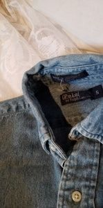 Polo by Ralph Lauren Shirts & Tops - Ralph Lauren Boys Denim Shirt Sz S(6-8)